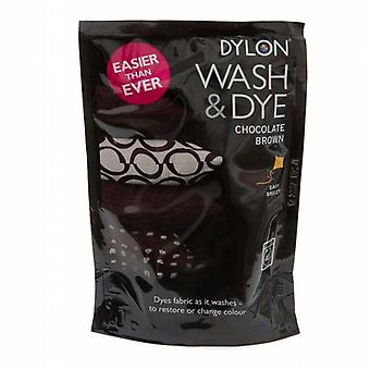 Dylon lavado y tinte Chocolate Brown 400g de Caraselle