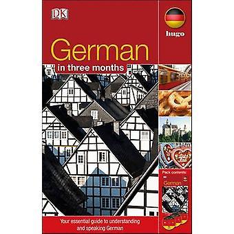 Alemán en 3 meses por DK - libro 9781405391566
