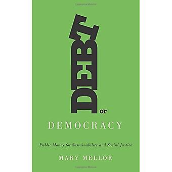 Skuld eller demokrati: offentliga pengar för hållbarhet och Social rättvisa