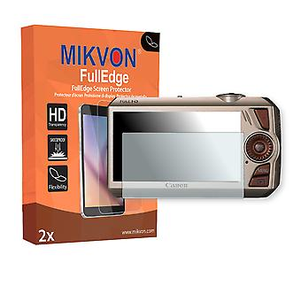 Canon PowerShot SD4500 IS screen protector - Mikvon FullEdge (screen protector with full protection and custom fit for the curved display)