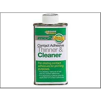 Everbuild Stick 2 Adhesive Thinner & Cleaner 250ml