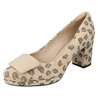 Суд Clarks дамы обувь Kelda камень