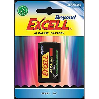Batteri 9V, 6LR61 Excell Beyond Alkaline Batteries