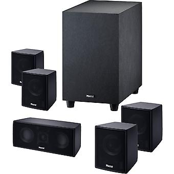 MAGNAT Cinemotion 510 home theater system with active subwoofer, black, new goods