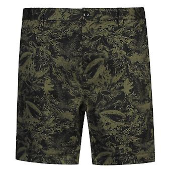 Replay Classic Floral Pattern Chino Shorts