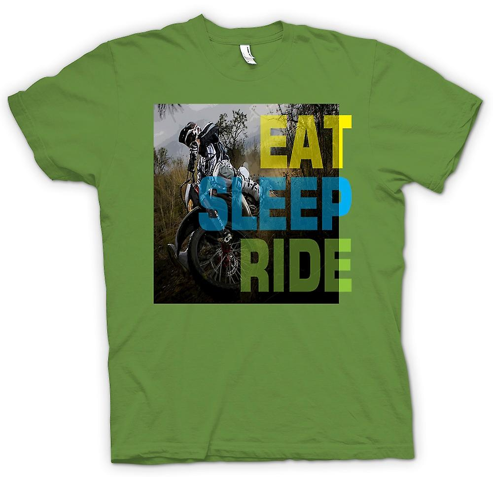 Mens T-shirt - Offroad Motocross - Essen Schlaf Ride