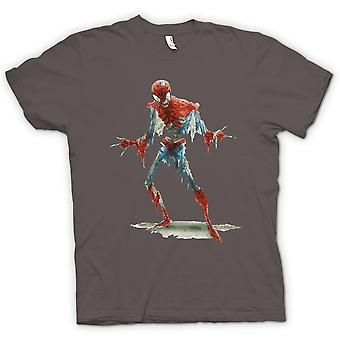 Womens T-shirt - Spiderman Zombie - Funny