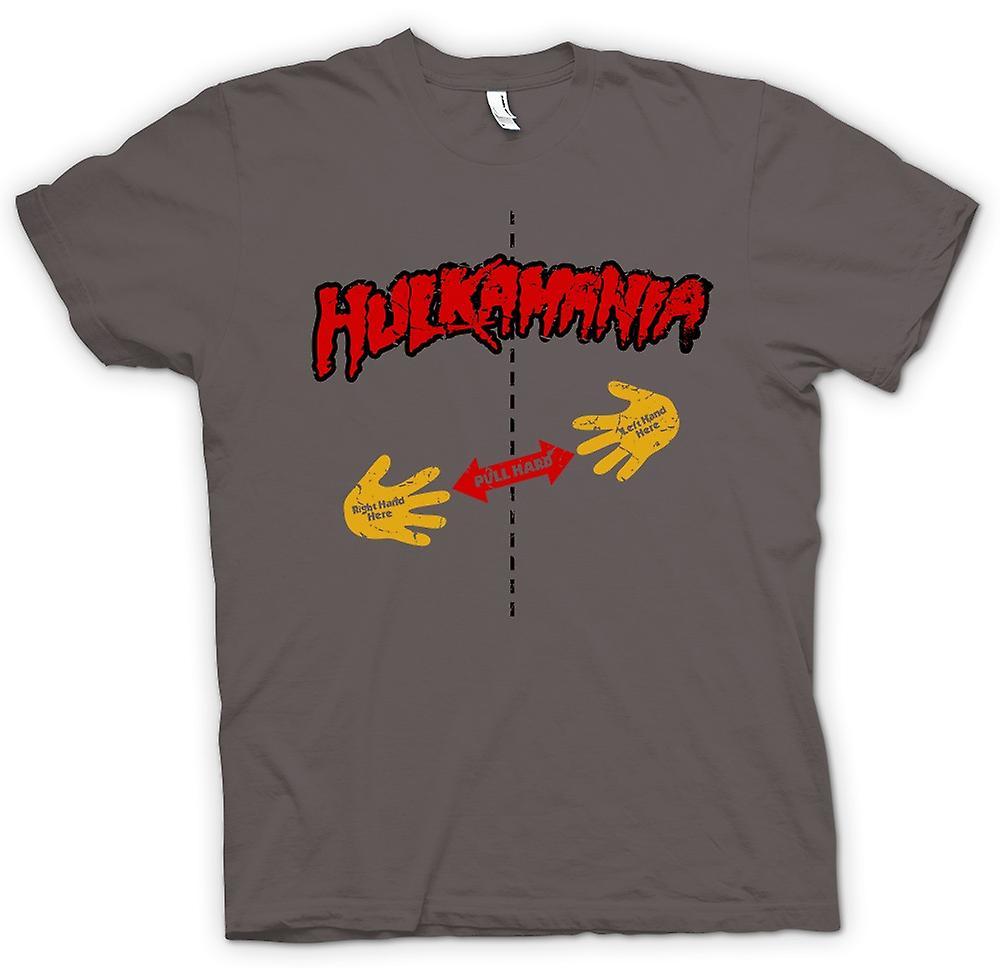 Hombres camiseta-Hulk Mania - camisa Rip - tire aquí