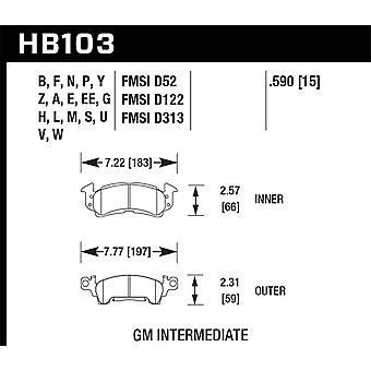 Hawk Performance HB103B. 590 HPS 5,0