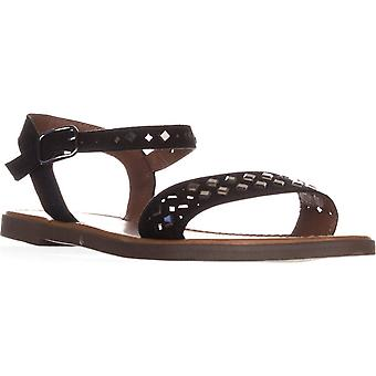 Material Girl Womens Delany Open Toe Casual Ankle Strap Sandals