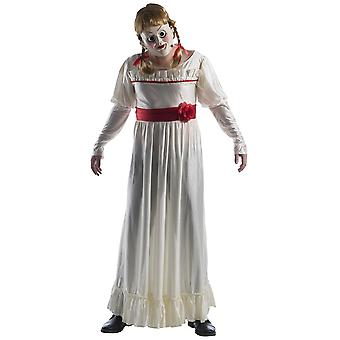 Annabelle Creation Movie Deluxe Horror Evil Doll Ghost Halloween Mens Costume