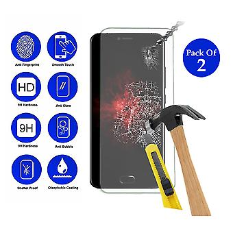 Pack of 2 Tempered Glass Screen Protection For All Call Bro 5