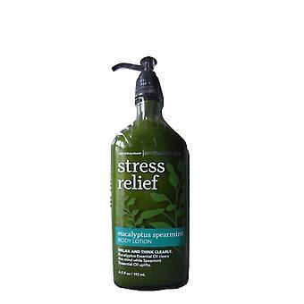Bath & Body Works Aromatherapy Stress Relief Eucalyptus Spearmint Body Lotion 6.5 oz / 192 ml