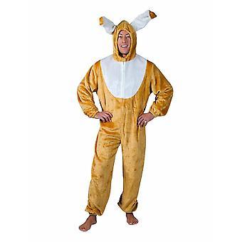 Costume de lapin d'hommes Pâques lapin Hoppelhase Costume homme