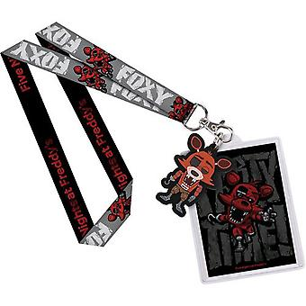 Five Nights at Freddy's Foxy US Lanyard with Backer Card
