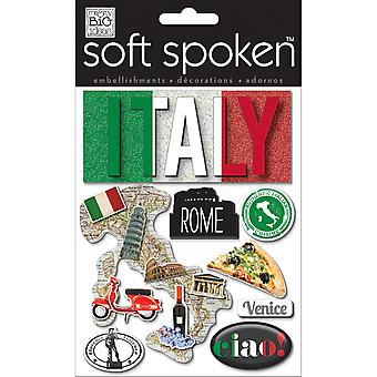 Soft Spoken Themed Embellishments Authentic Italy Ss 1418
