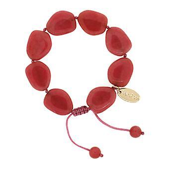 Lola Rose Malinda Bracelet Raspberry Rose Quartzite