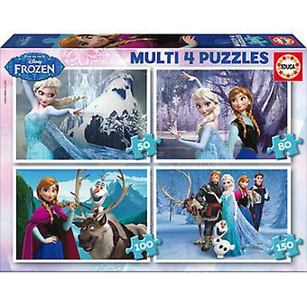 Educa Multi Puzzles Frozen 50-80-100-150 Pieces (Kids , Toys , Table Games , Puzzles)