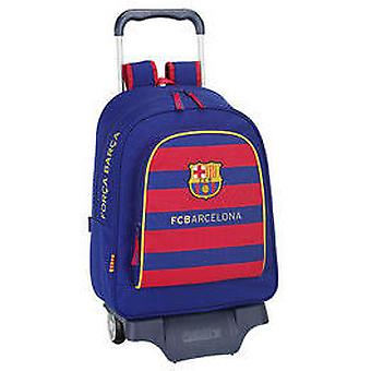 Safta Fc Barcelona Large Backpack With Wheels (Spielzeuge , Schulzone , Rucksäcke)