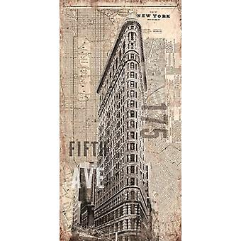 175 Fifth Avenue Poster Print by Evangeline Taylor
