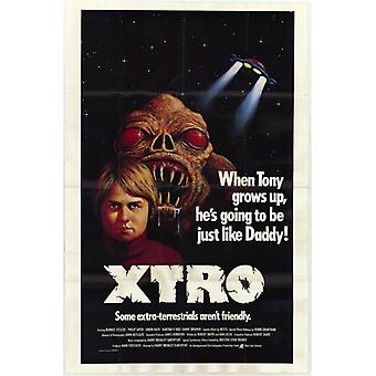 Xtro Movie Poster Print (27 x 40)