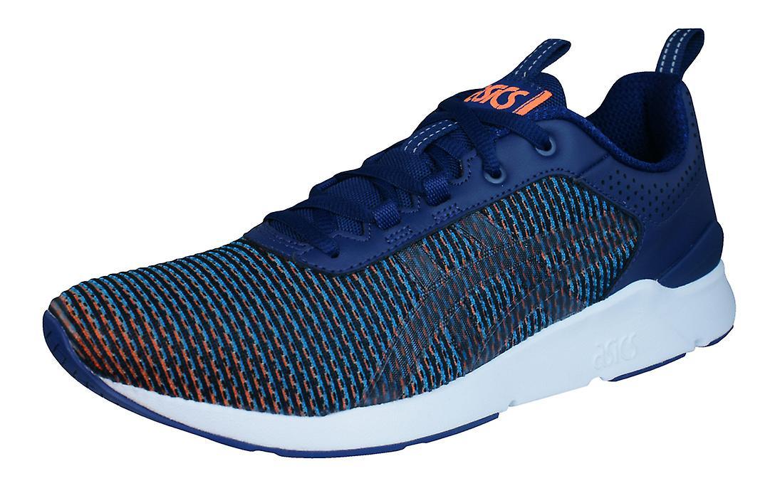 Asics Gel Lyte Runner Runner Runner Mens Running Trainers / Shoes - Black Blue 914416