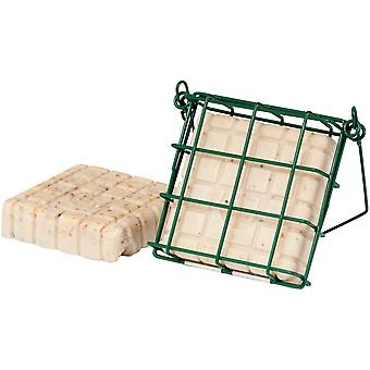 Cj Peanut Cake Feeder Mesh Green