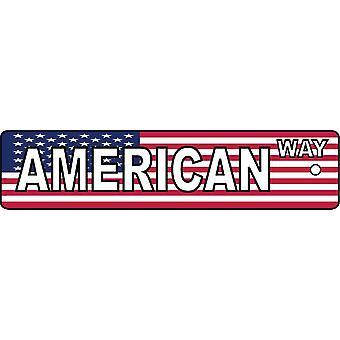 Refrogerador de ar de carro de placa de rua de maneira americana