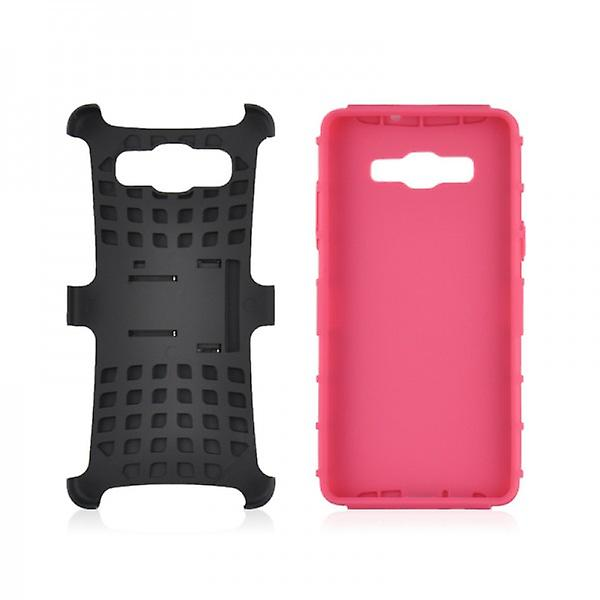 Hybrid case 2 piece SWL robot Pink for Samsung Galaxy A3 A300 A300F