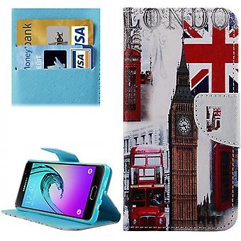 Cover wallet pattern 74 for Samsung Galaxy A5 2016 A510F