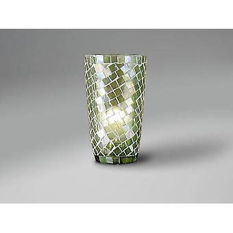 Schuller Conic Green Mosaic Glass Shade (Home , Lighting , Lampshades)