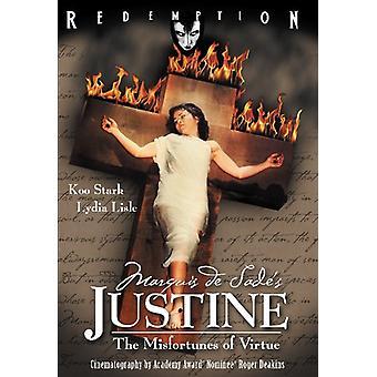 Marquis De Sades Justine [DVD] USA importerer