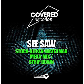See Saw - Stock-Aitken-Waterman Mega-Mix/Strip Down [CD] USA import
