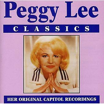 Peggy Lee - importación de los E.e.u.u. clásicos [CD]