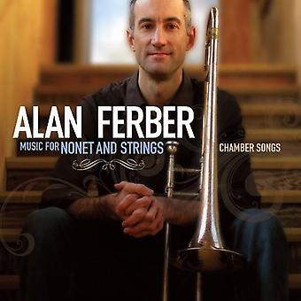 Alan Ferber - musik for Nonet & Strings-kammer så [CD] USA import