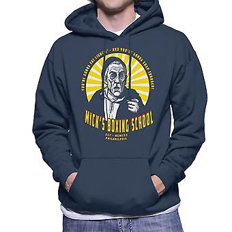 Micks Boxing School Rocky Men's Hooded Sweatshirt
