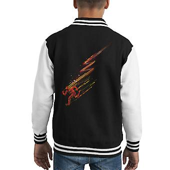 The Flash Lightning Bolt Kid's Varsity Jacket