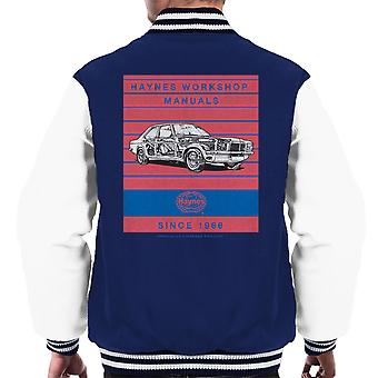 Haynes Workshop Manual 0108 Vauxhall Victor VX4 90 Stripe Men's Varsity Jacket
