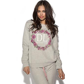 Delicious London Floral Logo Sweater