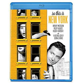 So This Is New York [BLU-RAY] USA import