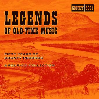 Legends Of Old-Time Music: Fifty Years Of County Records by Various Artists