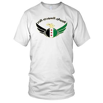 Free Syria Army Coat Of Arms Ladies T Shirt
