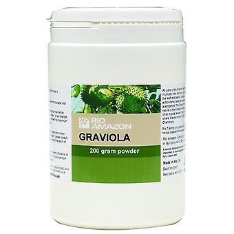 Rio Amazon, Graviola Leaf Powder, 200g