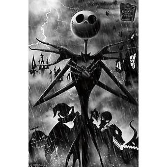 Nightmare Before Christmas Unity Poster Poster Print