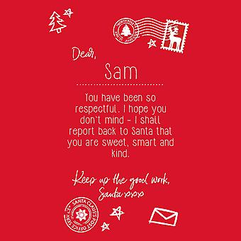 Christmas Shop Personalisable Childrens/Kids Letter To Santa Tee