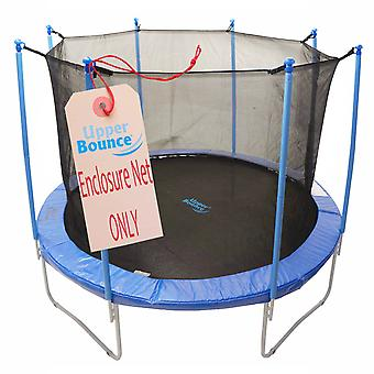 12'  Trampoline Enclosure Safety Net Fits For 12 FT. Round Frames Using 8 Poles or 4 Arches (poles not included)