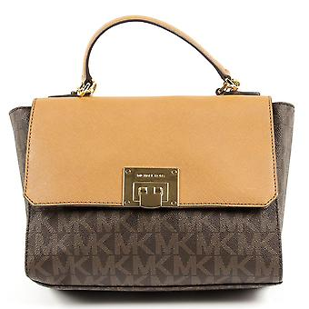 Michael Kors Womens Handbag Tina 35t7gt4s6b Brn Acorn