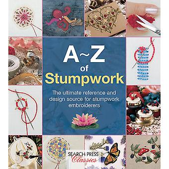 Search Press Books-A-Z Of Stumpwork SP-11778