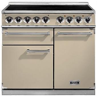 FALCON F1000DXEICR/C 100110 - 100cm Deluxe Induction Range Cooker, Cre