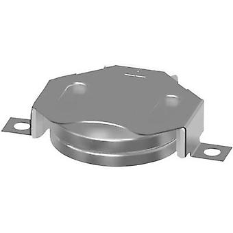 Button cell holder 2 CR 2020, CR2025, CR2032 Horizontal, SMD (L